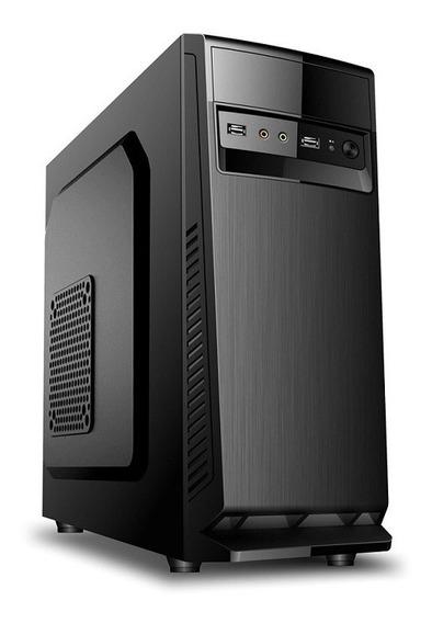 Gabinete Sem Fonte Novo Na Caixa Compusonic D1607 Micro Atx Usb Som Frontal
