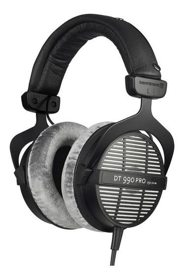 Fone de ouvido Beyerdynamic DT 990 PRO black e grey