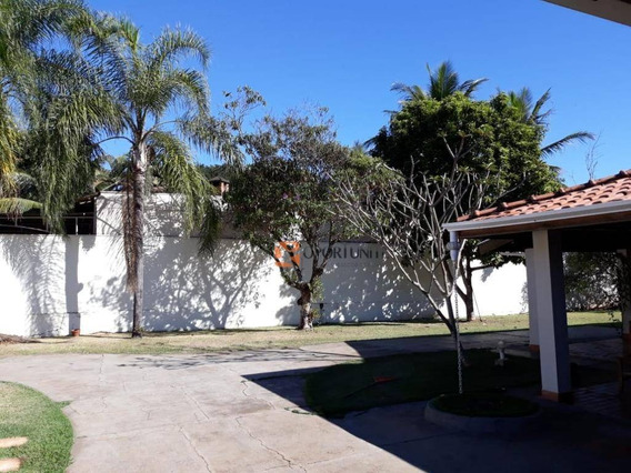 Chácara 4 Dorm 1 Suíte Piscina Portal Dos Ipês À Venda Ribeirão Preto - Ch0012