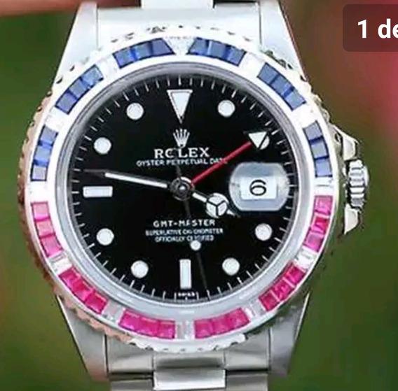 Bisel Pepsi Rolex Oro Blanco 14k Gmt 2 Submariner, Daytona