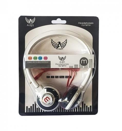 10 Fone Ouvido 521 Mex Style P/ Celular Mp3 Rádio Headfone