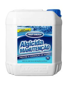Algicida Para Piscina 5 Litros 4 Unida Oferta Combate Algas