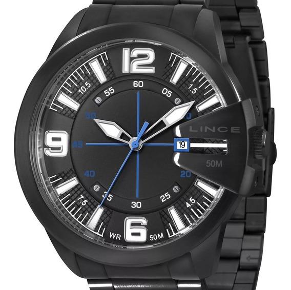 Relógio Masculino Lince Original C/ Nota Fiscal Sk44