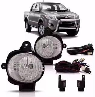 Kit Faro Auxilar Antiniebla Toyota Hilux 2012 2013 2014 2015