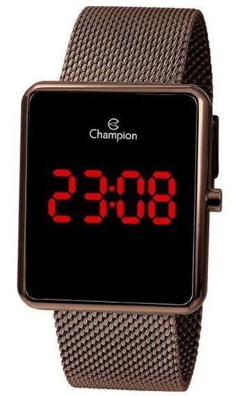 Relógio De Pulso Digital Champion Ch40080r