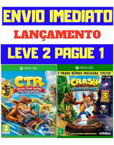 Crash Team Racing + Crash Bandicoot Xbox One Mídia Digital