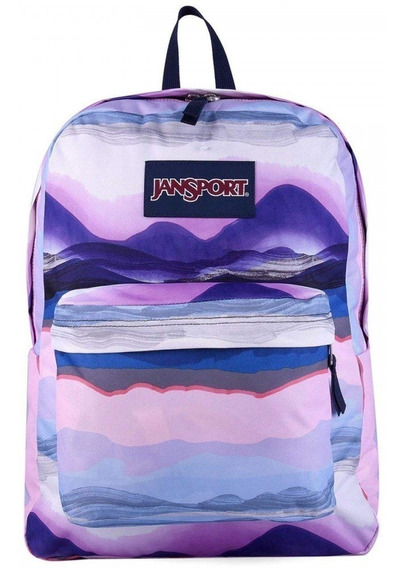 Mochila Jansport Superbreak Sunset Violeta Js00t501-40v