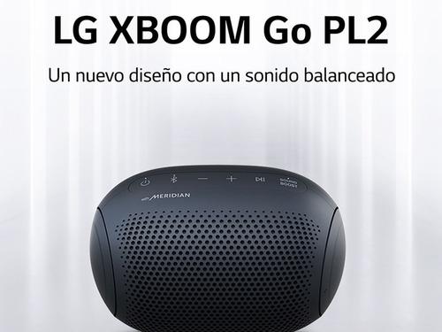 Parlante LG Xboom Go Pl2 Bluetooth Tecnología Meridian Griso