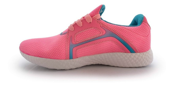 Tenis Para Correr Geers Mujer Rosa Fitness Envío Gratis