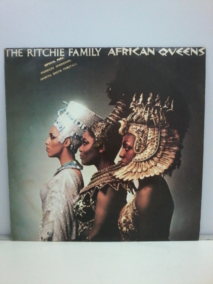 Lp The Ritchie Family - African Queens (1977) - Disco, Funk