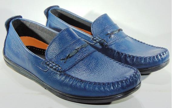 Zapatos Marca Hopper Cuero Genuino Vacuno Cosidos Art 889