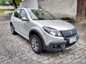 Renault Sandero 2013 Stepway 1.6 16v Rip Curl Flex 5p - Novo