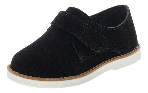 Sapato Infantil Masculino Molekinho - 2149102 Preto/camurça