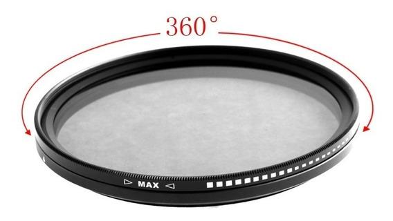 Filtro Nd 2 A 400 - Densidade Neutra Variável - 82mm - Fotga