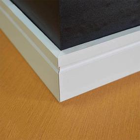 Rodapé Branco 10cm Mdf Ultra Prova D`agua Valor Metro Linear