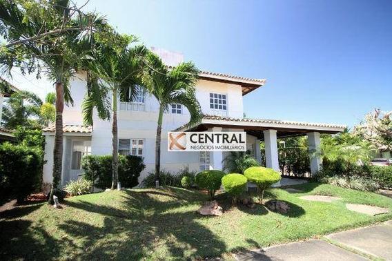 Casa Com 4 Dormitórios Para Alugar, 260 M² Por R$ 5.500,00/mês - Itapuã - Salvador/ba - Ca0284