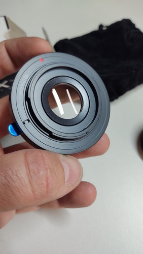 Anillo Adaptador De Lente Fx A Cámara Nikon