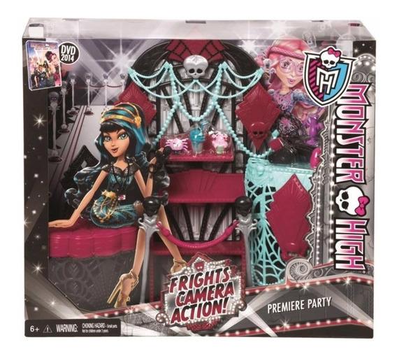 Festa De Premier Monster High Monstros Câmera Ação - Mattel