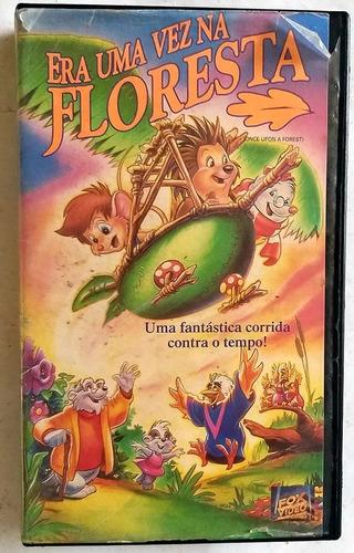 Vhs Dvd Era Uma Vez Na Floresta  D U B L A D O
