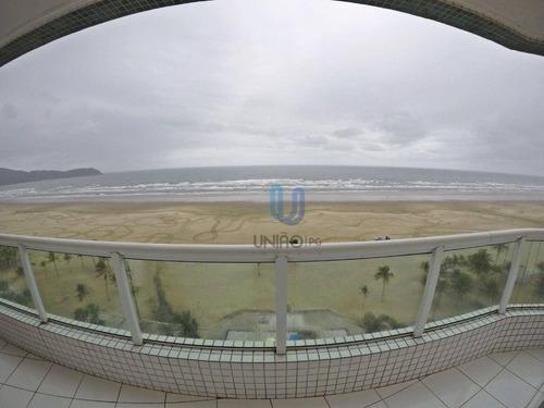 Imagem 1 de 30 de Apartamento Com 3 Dormitórios À Venda, 123 M² Por R$ 920.000,00 - Guilhermina - Praia Grande/sp - Ap0284