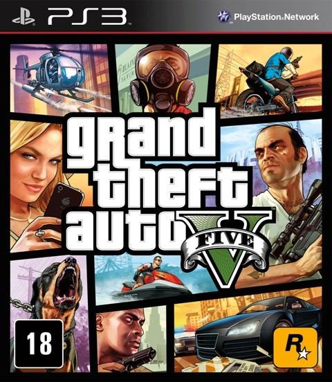 Gta 5 V Ps3 Grand Theft Auto Cod Psn