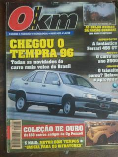 Revista 0km Nov 1995 Coleção De Antigos, Poster Ferrari 456