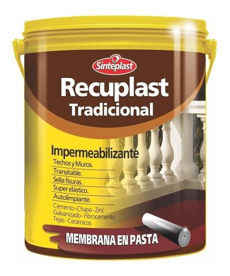 Recuplast Tradicional Membrana Pasta Techos/muros 20l Rex