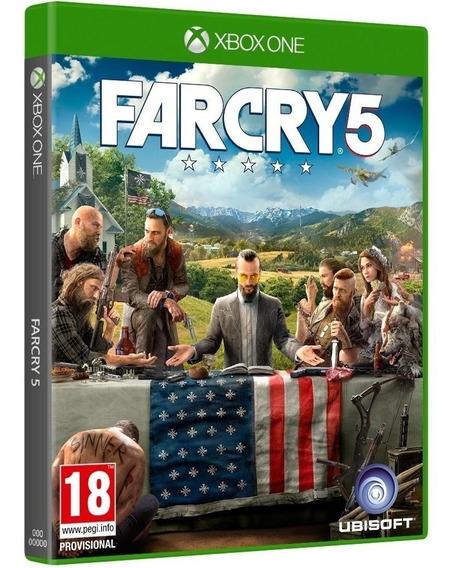 Jogo Far Cry 5 Xbox One Midia Fisica Original Lacrado Barato