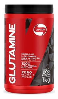 L-glutamina Glutamine Vitafor 1000g Isolada E 100% Vegetal