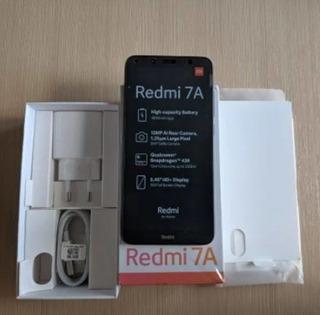 Smartphone Xiaomi Redmi 7a 32gb Preto - Pronto Para Entreg