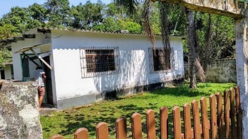 Casa Estilo Chácara Na Praia, Ampla E Com Escritura!
