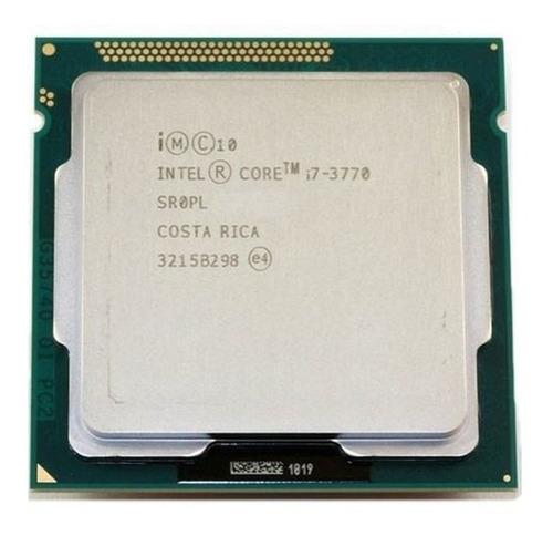 Processador Gamer Intel Core I7-3770 De 4 Núcleos E 3.4ghz