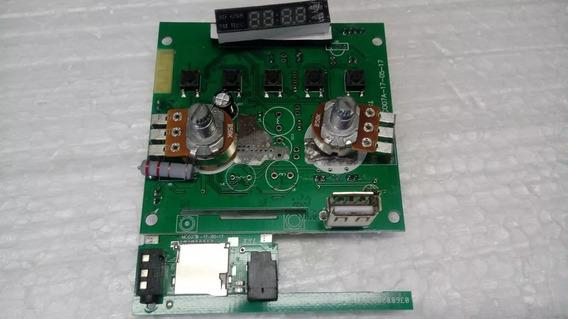 Kit Placa + Bateria + Carregador Caixa Mondial Mco-06