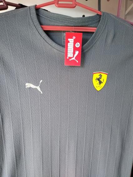 Camisa Puma Ferrari Refletiva