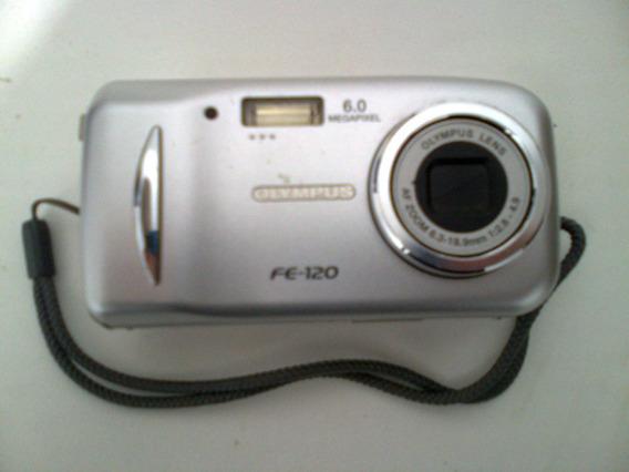 Máquina Câmera Digital Olympus Fe 120 - 6.0 Megapixels