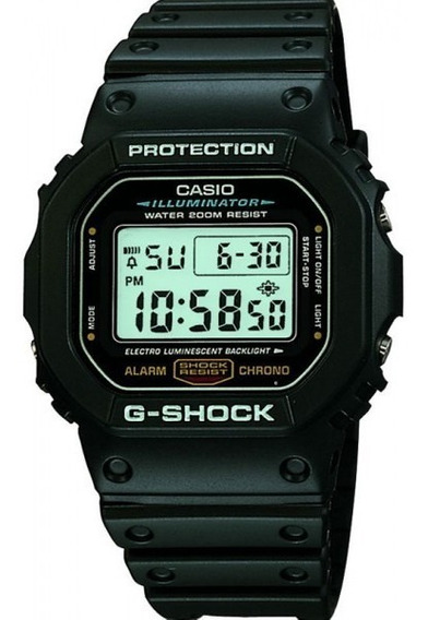 Relógio Casio G Shock Dw5600e1vdf Preto Original
