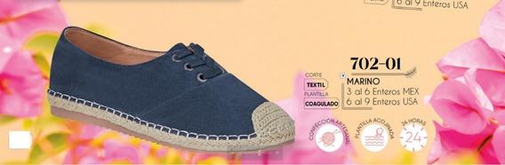 Zapato Casual Confort Marino 702-01 Cklass 8days M