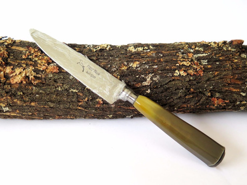 Cuchillo  Guampa Solingen Nro 12 ( Grabados En El Acto ) !!