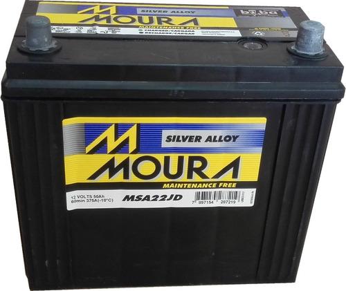 Baterias Moura M22jd 12x50 50ah Asiatica Honda Civic Crv Hrv
