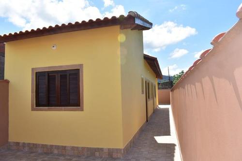 Casa Com 2 Dormitórios À Venda, 56 M² Por R$ 160.000 - Jardim Magalhães - Área Verde - Itanhaém/sp - Ca0741
