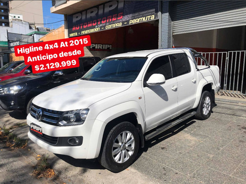 Volkswagen Amarok 2.0 4x4 Highline  At 2015, $2.129.999 Ctas