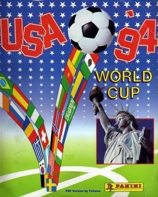 Figurinhas Avulsas Retiradas - Copa 1994