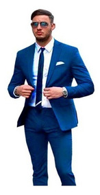 Terno Blazer + Colete Blazer Fit Casamente 7 Cor 2020