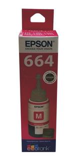 Tinta Epson 664 Original L200 L210 L355 L555 L575 L380 L385