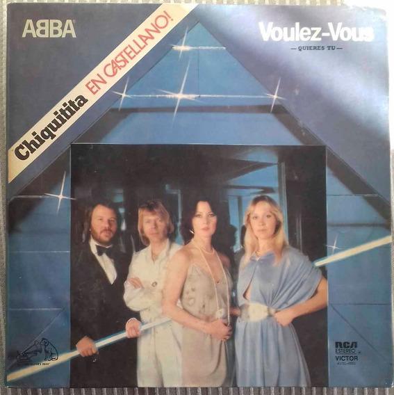 Abba Voulez Vous Quieres Tú 1979 (disco Vinilo)