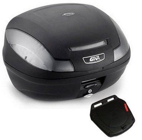 Bagageiro Para Honda Cg 150 -16 Fan Givi Sr1124 + Bau 47 Lit