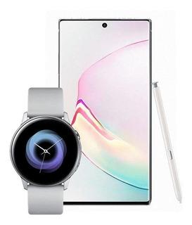 Samsung Galaxy Note 10+ Blanco + Galaxy Watch Active