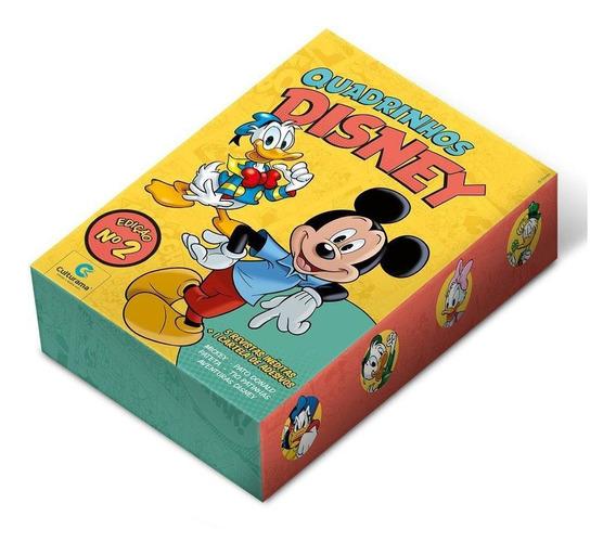 Box Quadrinhos Disney Edição 2 - 5 Vol - Cartela De Adesivos