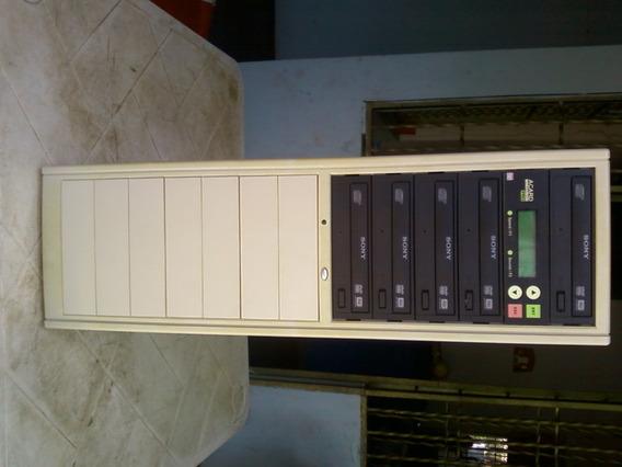 Duplicador 13 Bahías, 1 X 4 Disco Dvd Y Cd Sony