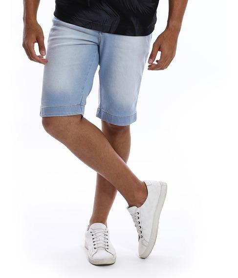 Bermuda Jeans Masculina Com Lycra - Ótima Qualidade